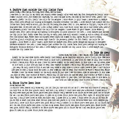 View Loreen's Lyrics by going to her Music page and then to each song...